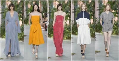 【2017春夏紐約時裝週現場直擊】LACOSTE重新詮釋了舒適 優雅及性感的理念