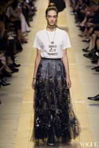 2017春夏巴黎時裝週:Dior屏除爭議 風靡世界