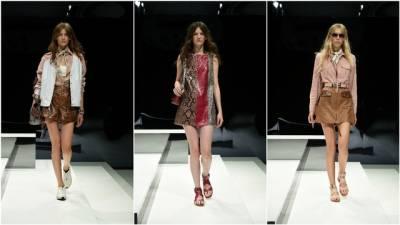 【2017春夏米蘭時裝周】Krystal與喬喬米蘭同框看秀,穿TOD'S皮裙皮鞋完美演繹Cool Sexy!