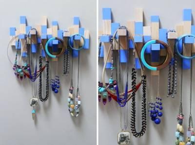 飾品捲成一團亂糟糟,15個美觀的收納法,恨自己為何不早點這麼做?