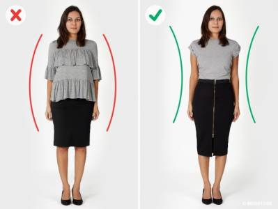 穿搭不正確,會讓你看起來更大隻!要看起來像「模特兒」,得改成這樣穿!