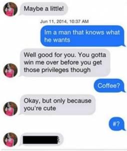 他盜用帥氣男模的照片在交友網站上搭訕正妹,沒想到他收到源源不絕的回應,這些對話根本不像正妹的形象啊...