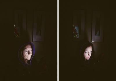 溫情攝影圖片:媽媽和女兒