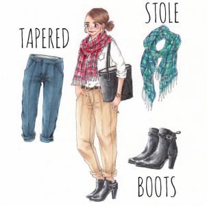 每天都在煩惱要穿什麼嗎?快來看看超厲害的「日本IG穿搭大師」每天要穿什麼都幫你搭好囉!#6也太適合現在的季節了吧~
