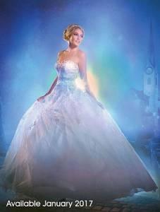 這套一定美到木蘭不想逃婚!2017迪士尼婚紗夢幻登場