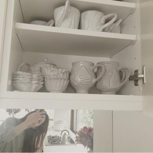 模特兒梨花的休閒時光♡喝咖啡不可缺少的單品是?