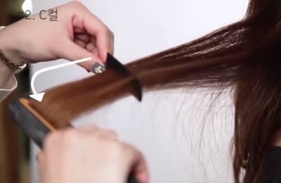 韓妞彎度都是夾出來的!設計師教你用一支平板夾打造多種髮型捲度