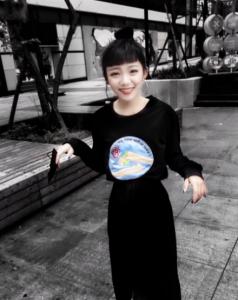 不怕退流行!南臺灣黑衣妹教你全身黑嘛嘛也能穿出特色