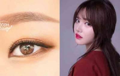 什麼!眉毛畫錯反而臉型變大了,韓妞教你畫出正確的「黃金比例眉」...畫法超簡單!