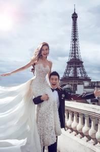 這就是女人一生的憧憬啊~這些藝人都走進歐洲美景+婚紗的童話世界了...好喜歡楊千霈的復古與浪漫!