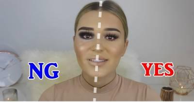 為什麼我老是畫成蠟筆小新?美妝部落客示範7大錯誤妝法+正確步驟,這下你絕對不手殘!