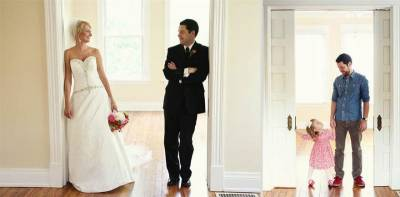 妻子過世後,他和女兒拍了婚紗照紀念「感人熱淚到不行」
