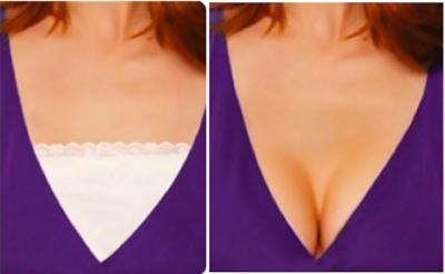 五個「女神級正妹」都會這樣做的「心機穿搭」技巧!# 4 原來人人都可以輕鬆變「深V爆乳」!