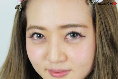 有沒有臥蠶真的差很多耶!日本女生最愛的淚袋妝教學☆