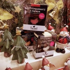 交換禮物 創意聖誕禮盒推薦,用香噴噴的繽紛泰國reunrom草本香皂組帶來歡樂氣氛,讓寒冬變得溫暖又療癒