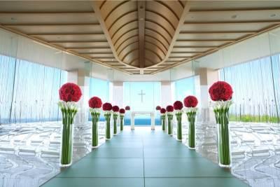 無敵海景×純白教堂 史上最夢幻沖繩海外婚禮提案!│VoCE