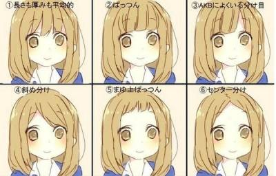 別再空氣瀏海了!6款日本超人氣瀏海~讓你簡單也可以很可愛~
