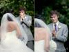 真的是天上給的禮物~~當新郎看到新娘的那一瞬間....