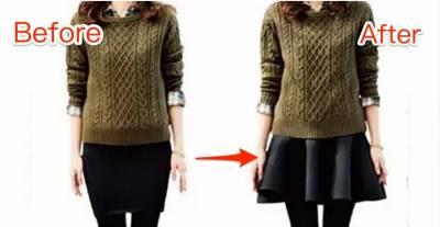 同一個人穿同一件衣服,穿法不同差別居然差這麼大!!!