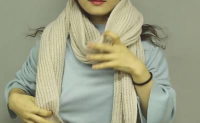 終於不再只會轉一圈打個結了!3 招超實用的圍巾綁法讓你變身好感系女孩