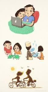 一輩子的感情得需要長久的日常經營,「9張插圖」道出恩愛夫妻才懂的相處之道!