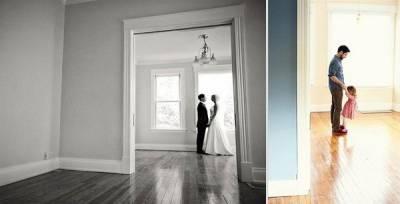 緬懷天上的媽媽,父女重拍當初結婚照