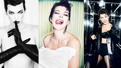 《惡靈古堡》蜜拉喬娃維琪Milla Jovovich登義大利版《Vanity Fair》!性感大解放