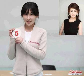 18位韓國小姐素顏照曝光,揭露撞臉的祕訣,差很大 ~~
