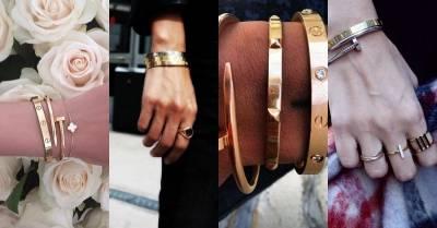Rain跟金泰熙結婚之前 用Cartier Love螺絲手環表現愛