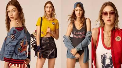 TOMMYXGiGi聯名系列再佔時尚版圖!Gigi獨特風格搭配Hilfiger經典美式,組合出搶眼加州女孩Look!
