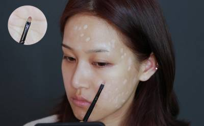 每次遮痘痘都厚厚一層粉在臉上!教你畫出女星般的「無瑕光澤」底妝