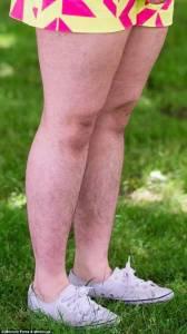 為了證明女孩有體毛也性感,她硬是多年不剃體毛... 4張沒有一個男生可以接受啊...