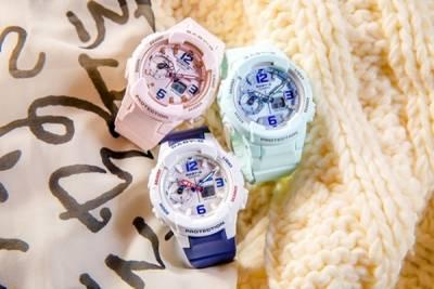 BABY-G 全新系列BGA-230SC 粉嫩夢幻風 展現春天時尚色彩~這個配色真的太可愛啦❤│恰女生