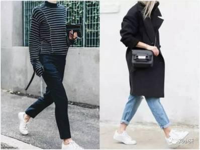 小白鞋 就算熱度不退,也要換個方法穿~~