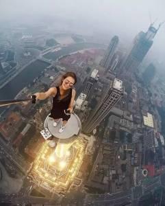 這位美女的自拍照好刺激……