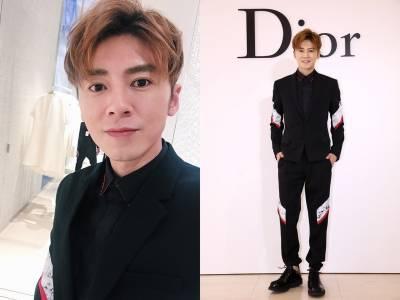 明星自拍!Dior活動除了孔孝真歐膩的睜大眼 歪頭萌三連拍之外,獨家自拍在此