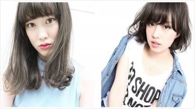 日本超人氣白棕髮色♪展現透明感及穩重大人髮型