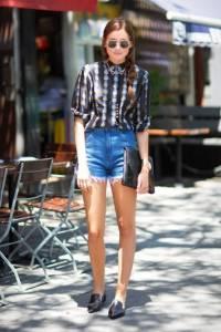 背心﹑T-shirt 不是唯一!熟感「丹寧短褲」進階搭配術就靠「這4招」!街頭 優雅 舒適怎樣風格都可以!