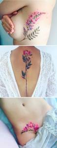 美得冒泡!6款讓你想立刻預約刺青師的花卉紋身!不過 4 的位置也太讓人害羞了吧!