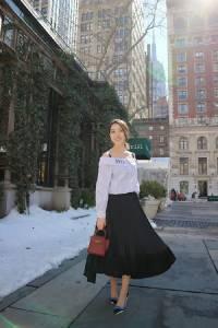 風格遊紐約 摩登都會Office Style這樣穿