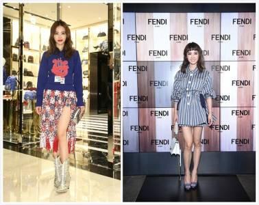 小隻女的3種穿搭技巧!快學Jolin蔡依林如何穿出「超強」氣場~#迷你裙少不了!