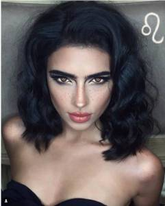 她在自己的臉上化妝化出了12星座,每個都贊爆....厲害了word姐