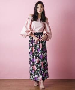 注意且關注2017年的潮流♡《冬→春》成熟粉色穿搭術♪