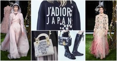 日式花園Jardin japonais特別系列滿滿浪漫日式風情!DIOR春夏高級訂製服大秀在東京