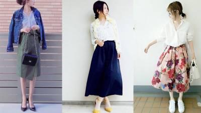 白襯衫怎麼穿?日本輕熟女的白襯衫穿搭術