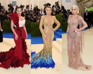 Met Gala 9位女星紅毯爭豔!薄紗透視 女王披風超搶鏡... Nicki Minaj的也太驚艷了!
