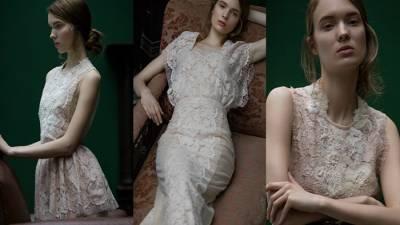 好喜歡這種古典優雅的維多利亞風格婚紗喔!氣質型的新娘一定很愛!