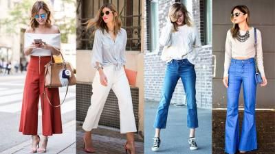 要俗要潮看「4個重點」!編輯教妳如何挑選最適合你的喇叭褲~ 想要「顯腿長」褲管長度就要挑的這麼剛好...