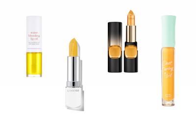買1送3唇彩技巧!顛覆形象的「黃色單品」,土色+黃唇居然變成時尚藕色...