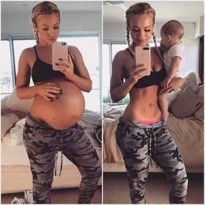 她生完二胎,卻8周內就瘦成了水蛇腰,吸引650萬粉絲!